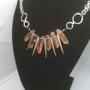 Jewelry - Edgy Crystal Necklace